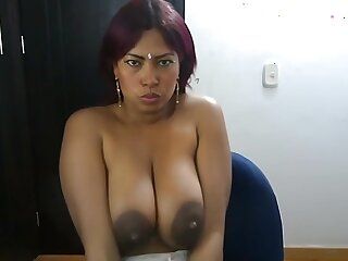 Domineer Brazilian Ebony Squirts Milk Into Her Mouth